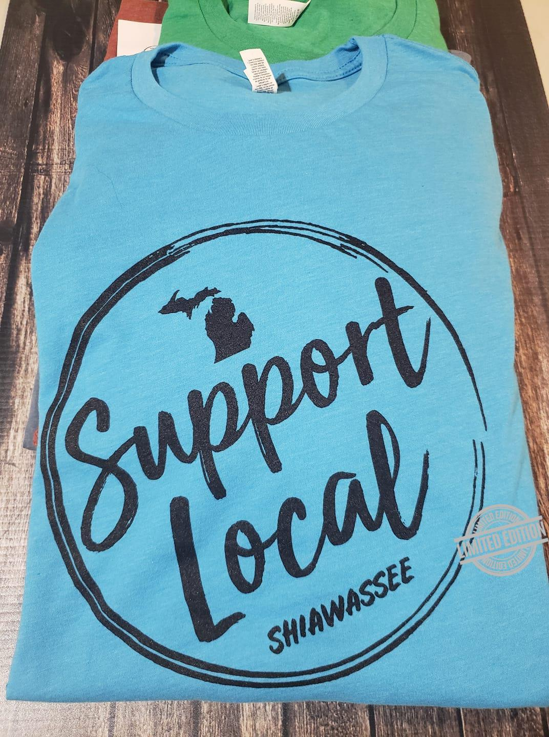 Support Local Shiawassee Shirt