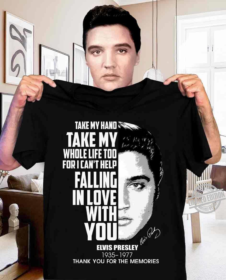 Take My Hand Take My Whole Life Too For I Can't Help Shirt