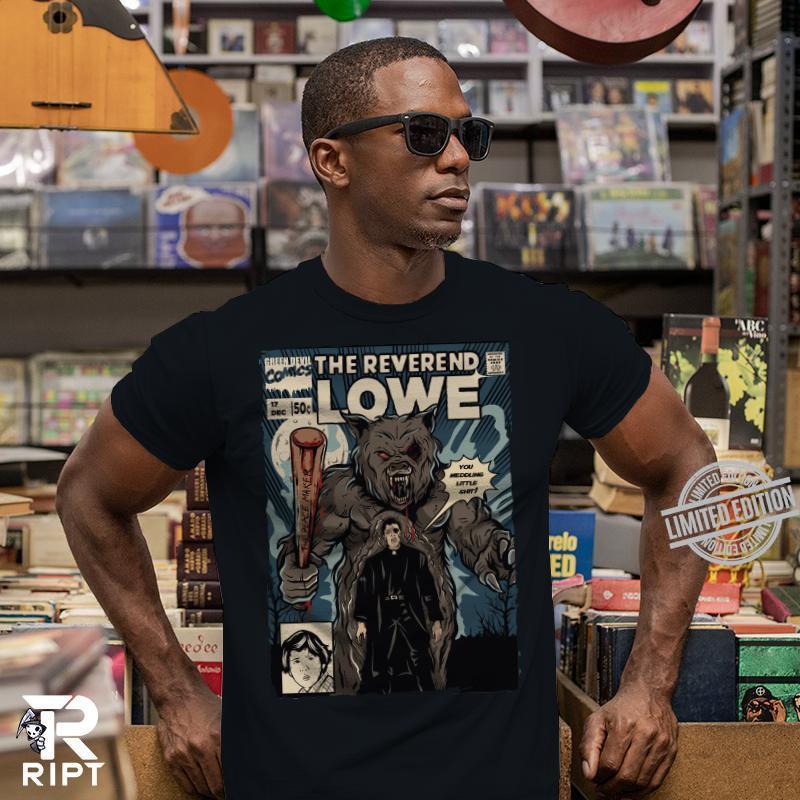 The Reverend Lowe Comics Shirt