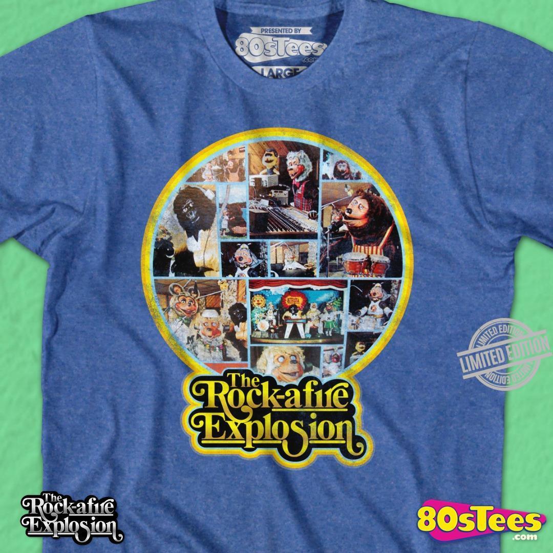 The Rock- Afire Explosion Shirt