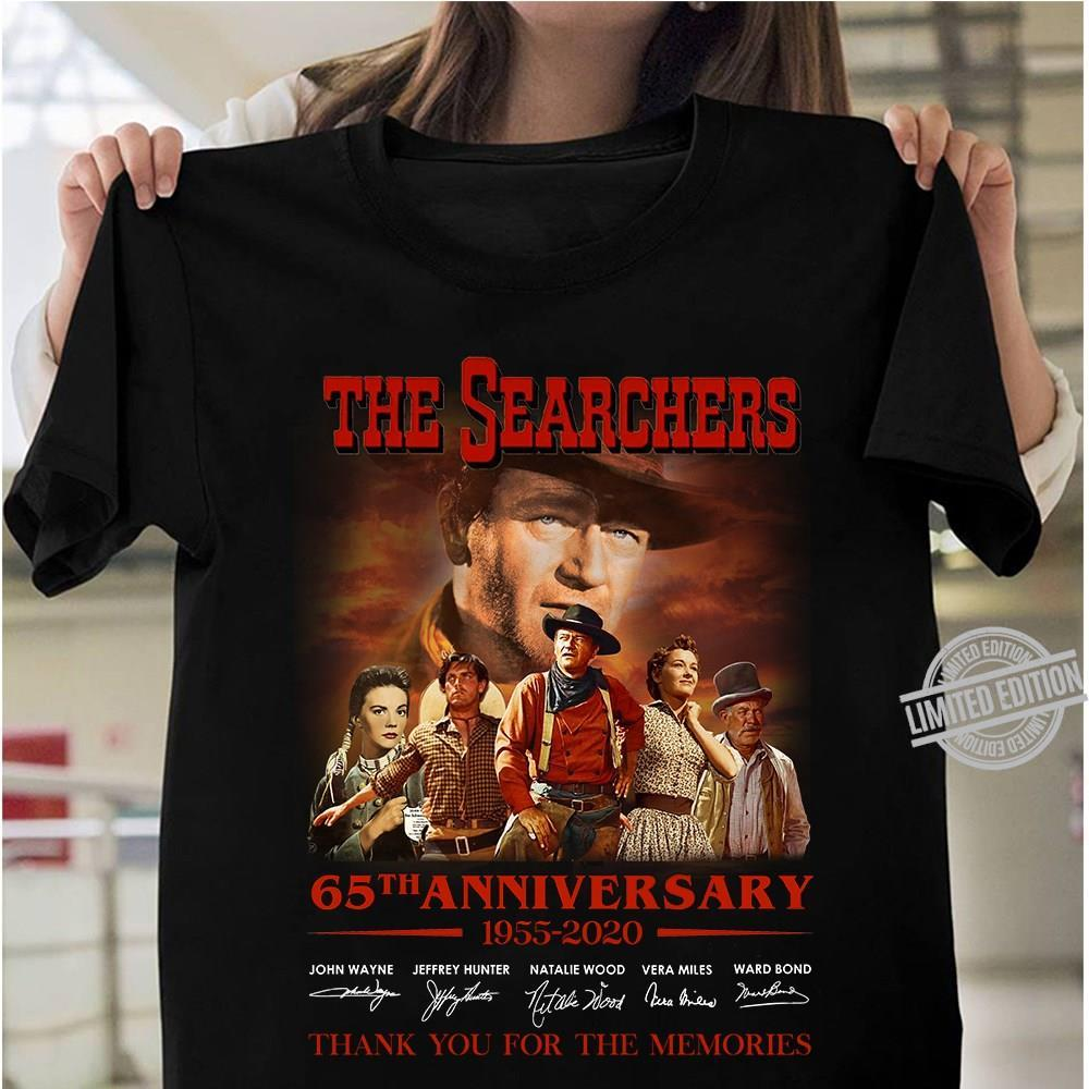 The Searchers 65th Anniversary 1955-2020 Thank You For The Memories Shirt