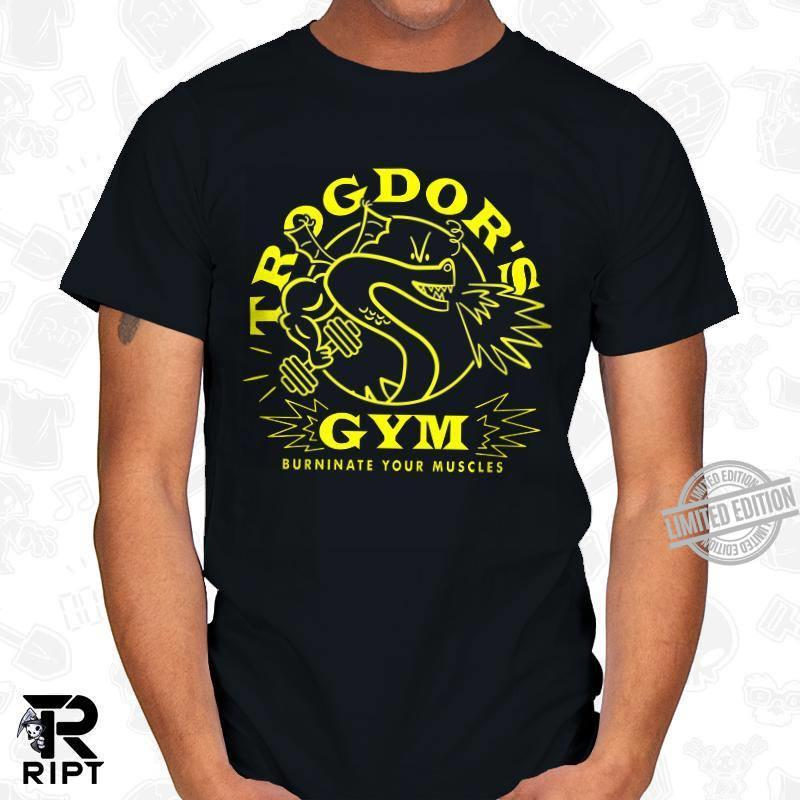 Trogdor's Gym Burninate Your Muscles Shirt