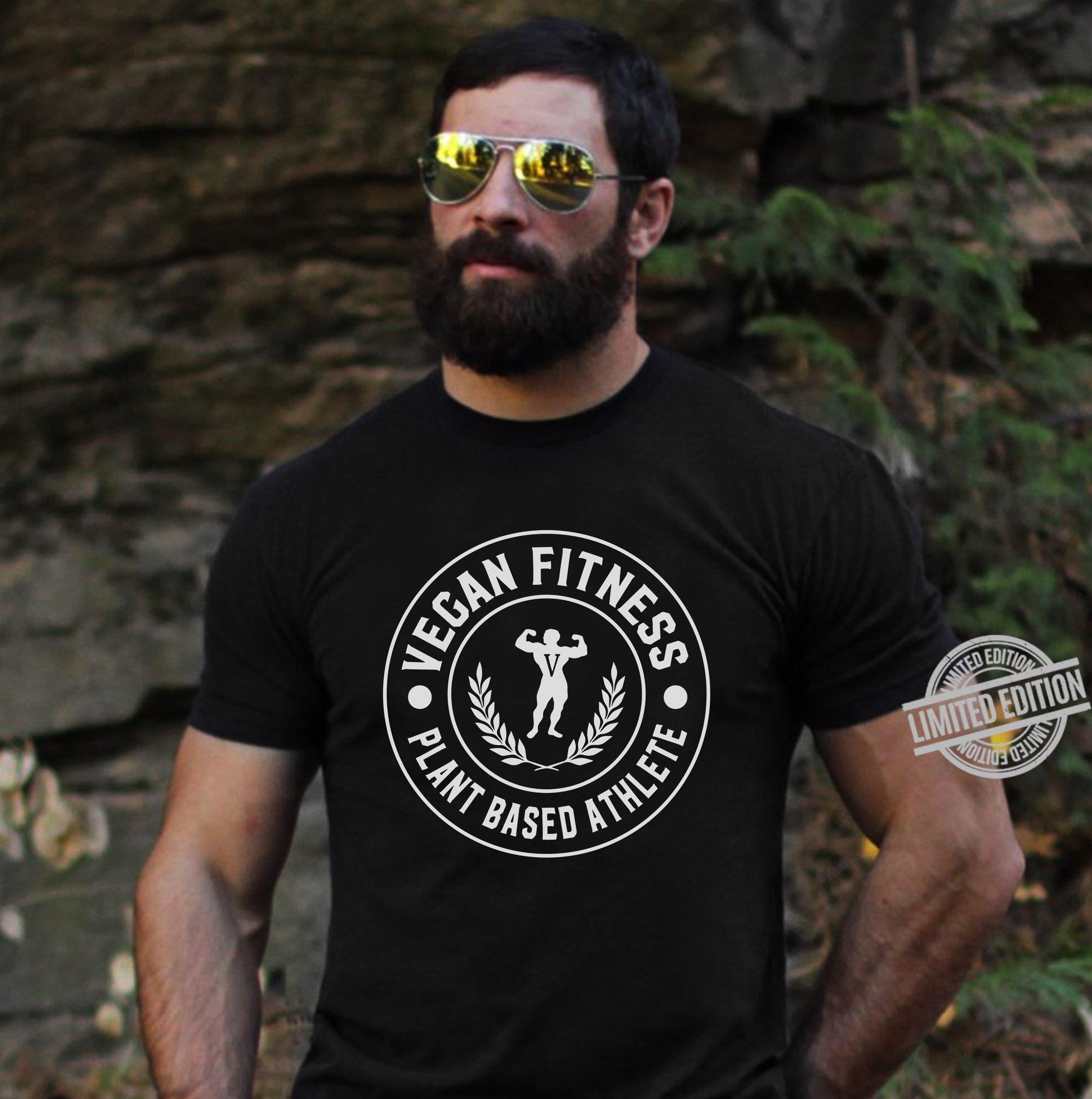Vegan Fitness Plant Based Athlete Shirt