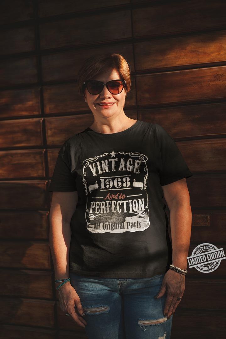 Vintage 1968 Aged To Perfection Ah Original Parts Shirt