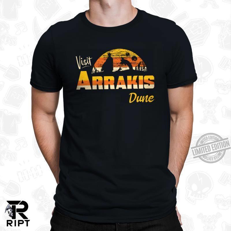 Visit Arrakis Dune Shirt
