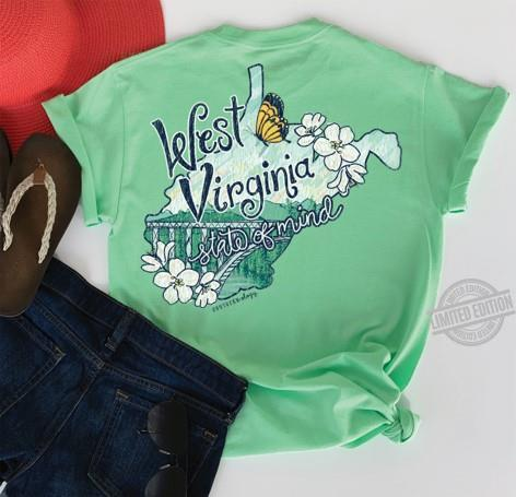 West Virginia State Of Mind Shirt